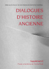 Dialogues d'Histoire Ancienne supplément 2